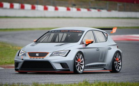The Leon Cup Racer will be offered to customers in ready-to-race form at a starting price of about $91,500.