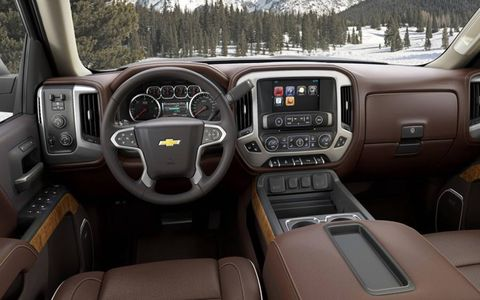 Chevrolet MyLink connectivity with an 8-inch touchscreen, Bose premium audio and front and rear park assist are all standard features.