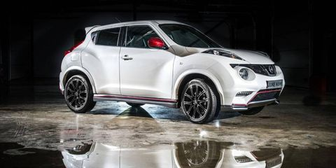 The Nissan Nismo Juke comes in less than the SL trim.