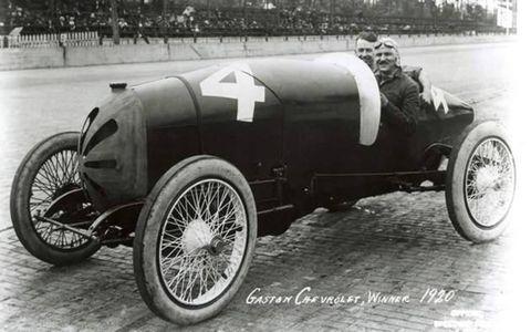 This Gaston Chevrolet won in 1920