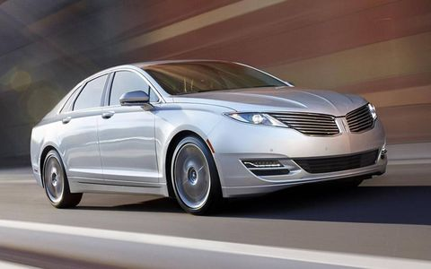 Lincoln's 2013 MKZ Hybrid is a fine-looking vehicular product.