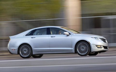"""How critical is this car for Lincoln? """"Very. It's our key vehicle,"""" said a rep."""