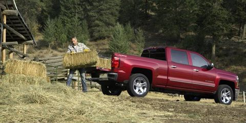 Manly tasks can be accomplished in the new Silverado