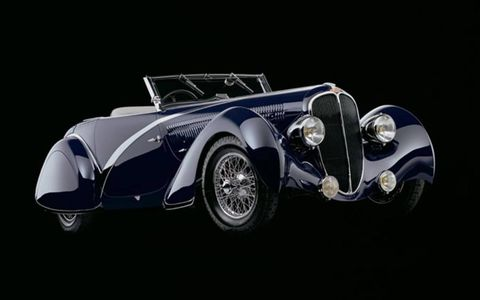 1935 Delahaye 135 Competition Disappearing Top Convertible