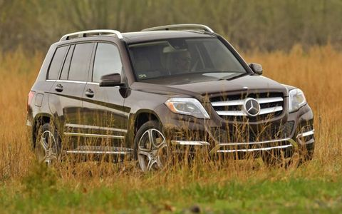 The GLK's refresh for the 2013 model year included a major interior makeover and some exterior changes.