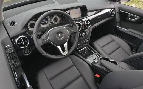 The interior, seen here in black, saw the most significant changes for 2013.