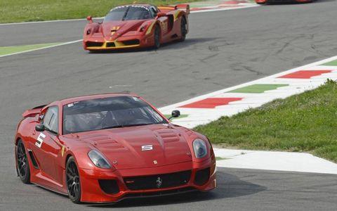 Ferrari 599XX and FXX.