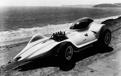 The Mantaray. Jeffries started it in 1963 and it still ranks as one of the most unique custom cars ever.