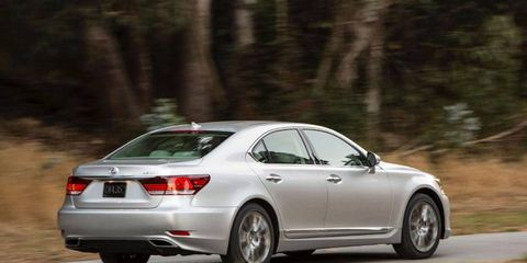 The 2013 Lexus LS 460 L gets an EPA-estimated 16 mpg city and 23 mpg highway.
