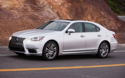 Pricing for the 2013 Lexus LS 460 L begins at $82,670 with our tester coming in at $83,999.