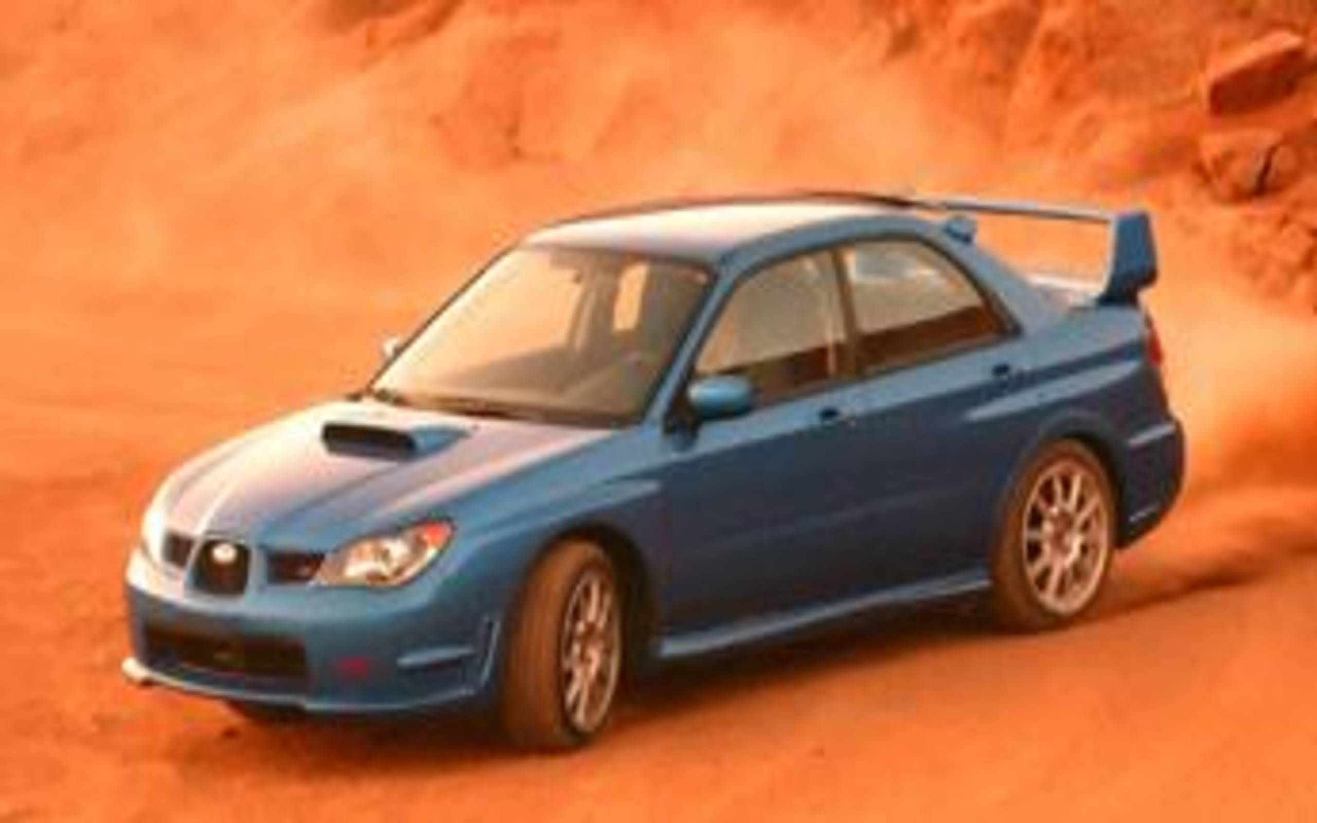 2006 Subaru Impreza Wrx Sti Subaru S Cult Car Shines On