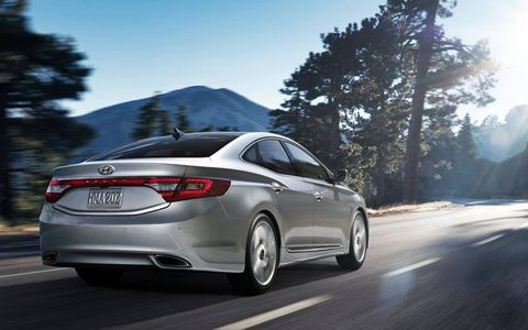 Pricing for the 2013 Hyundai Azera begins at $33,125 with our tester coming in at $37,225.
