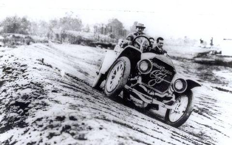 1911 Stoddard-Dayton driven by Carl G. Fisher