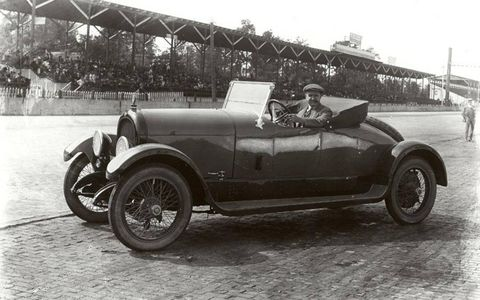 1920 Marmon 6 driven by Barney Oldfield