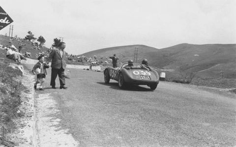 Jesse Alexander's subjects hurtled at him, within inches of his camera lens, and only steely nerves, an artist's eye and incredible timing made him what he is today: a legendary chronicler of motorsports whose work transcends reportage and ascends into art. The photos span 50 years of Alexander's coverage of the legendary Mille Miglia. We hope you enjoy sharing his rare talent.