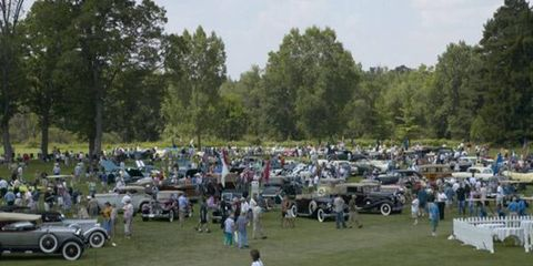 Good weather brought large crowds to the 27th annual Meadow Brook Concours d'Elegance.