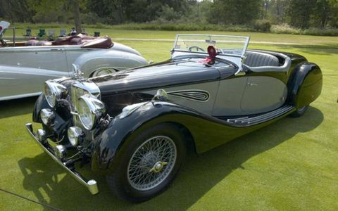 James B. Sprague's 1937 Alvis Speed 25 Roadster, Best Pre-1955 Sports Car.