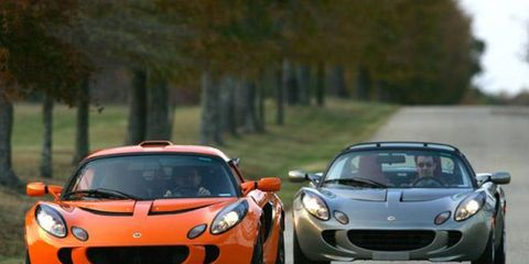 """Exige is a bit like Nissan's Skyline in that a generation has grown up """"driving"""" the car in video games and reading about it online before it got to the U.S. They know it shares the Elise's 150-pound bonded extruded aluminum frame so it weighs just a tad more than 2000 pounds; they know it shares only the door panels and windshield surround, externally; they know that its Yamaha-built Toyota twin-cam VVTL-I four (a Lotus-tuned variation on the Celica GTS mill) makes 190 hp but only 138 lb-ft, so you have to rev it up beyond 6000 rpm to get to the wheel; and that if you're doing it right it zips to 60 mph in less than 5.0 seconds."""