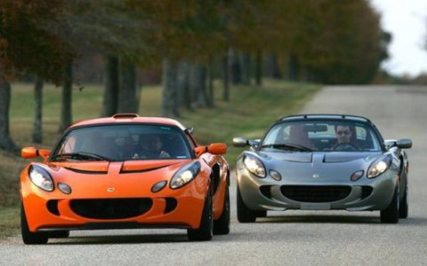 "Exige is a bit like Nissan's Skyline in that a generation has grown up ""driving"" the car in video games and reading about it online before it got to the U.S. They know it shares the Elise's 150-pound bonded extruded aluminum frame so it weighs just a tad more than 2000 pounds; they know it shares only the door panels and windshield surround, externally; they know that its Yamaha-built Toyota twin-cam VVTL-I four (a Lotus-tuned variation on the Celica GTS mill) makes 190 hp but only 138 lb-ft, so you have to rev it up beyond 6000 rpm to get to the wheel; and that if you're doing it right it zips to 60 mph in less than 5.0 seconds."