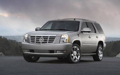 Based on General Motors' all-new full-size SUV platform, the '07 Escalade features new powertrain, chassis, safety and interior systems. Powertrains are led by a new 6.2L all-aluminum V-8 engine with variable valve timing technology delivering 403 horsepower and 417 lb.-ft. of torque. A new Hydra-Matic 6L80 six-speed automatic transmission is matched with the 6.2L engine. Escalade's exclusive interior includes a unique instrument panel, instrumentation gauges with white needles and blue light inlays with continuously lit, white-LED backlighting, Nuance leather-covered seats, leather-covered door trim and center console, fabric-covered interior pillars and an available heated steering wheel. Escalade will be available in the first quarter of 2006, with extended-wheelbase Escalade ESV and Escalade EXT models to be introduced later in the year.