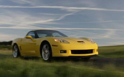An SAE-certified 505 hp at 6300 rpm and 470 lb-ft of torque at 4800 rpm mean the Z06 will run with anything not named Carrera GT or Enzo, give or take a few obscure low-volume specials or million-dollar dreams like the still-coming-any-day-now Bugatti Veyron. And with a 16/24 city/highway EPA mileage rating, the Z06 is even exempt from the federal gas guzzler tax. Chevrolet claims 0 to 60 mph in 3.7 seconds, and first gear is good for 62 mph.
