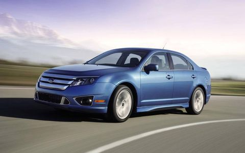 Driver's Log Gallery: 2010 Ford Fusion Sport