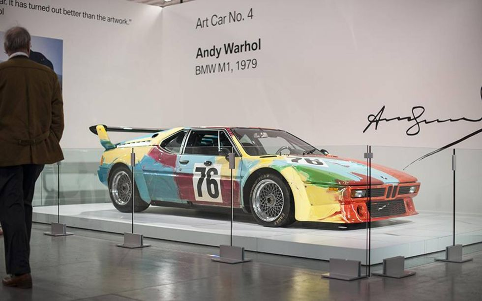 BMW ART Car #4 - BMW M1 Gr.4 - Immagine da Autoweek