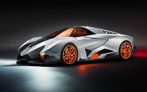 Selfishness permeates every nook and cranny of the Egoista, from the one-person seating arrangement to the fact that Lamborghini will retain ownership of the only one ever produced. Sorry.