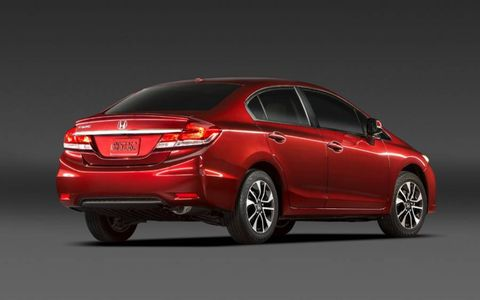 The 2013 Honda Civic EX-L comes in a front-wheel-drive orientation.