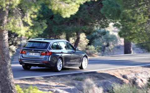 The BMW 3-Series Sports Wagon will come to the United States.