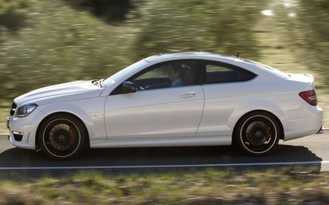 2012 Mercedes-Benz C63 AMG coupe