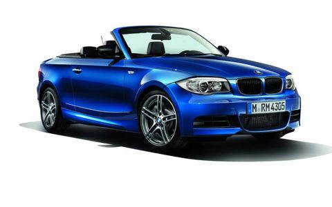 The 135is Convertible is priced at $48,845