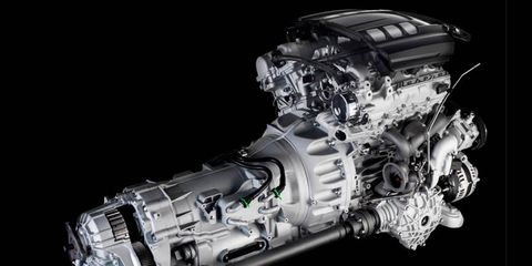 The new Quattroporte GTS V6's 404-hp output is 119 hp less than Maserati's equally new, higher-revving 3.8-liter twin-turbo V8.