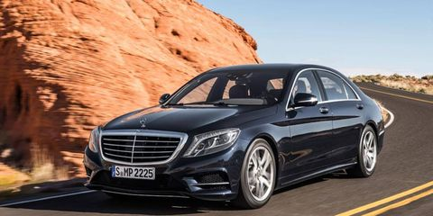 Mercedes-Benz has revealed the upcoming 2014 S-class luxury sedan.