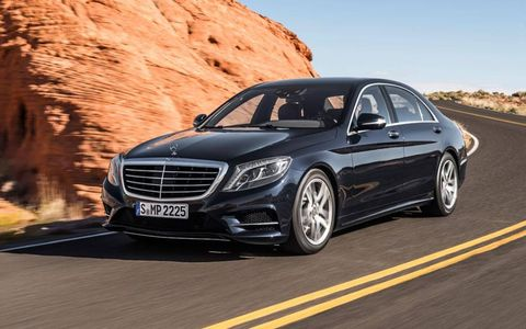 Mercedes-Benz has revealed the upcoming 2014 S-class luxury sedan.