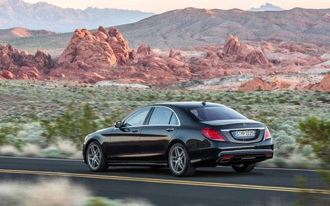 The 2014 Mercedes-Benz S-class sedan should arrive in North American showrooms in September.