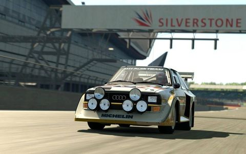 It's not all about the latest supercars, with classics among Gran Turismo 6's 1,200 playable vehicles.