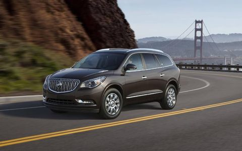 The 2013 Buick Enclave Premium lacks in the horsepower department even for daily driving.