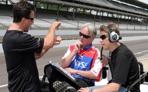 A trifecta of Andrettis, including Michael (left), Marco (right) and John (not pictured), will hit the bricks at Indy.