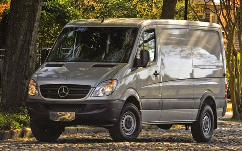 With 325 lb-ft of torque from the Turbo I6, this van is no slow poke