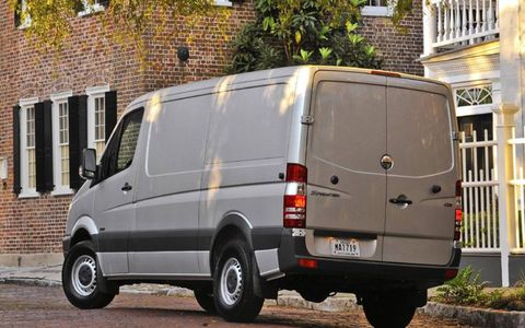 The Sprinter can be yours for a base price of $42,395