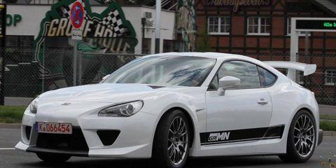 The Gazoo Racing Sport FR gets bigger brakes than the stock car.