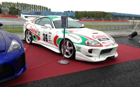 TOM's Castrol Supra from several GT games.