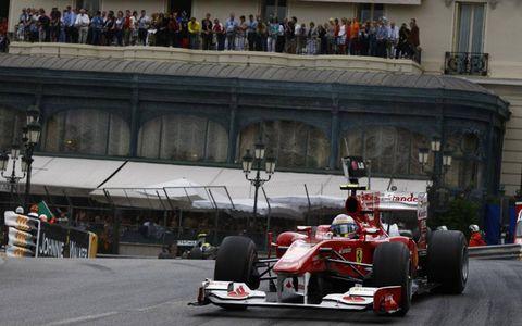 Monte Carlo, Monaco 16th May 2010 Fernando Alonso, Ferrari F10, 7th position