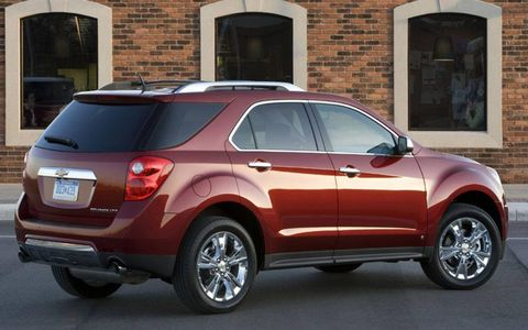 Driver's Log Gallery: 2010 Chevrolet Equinox