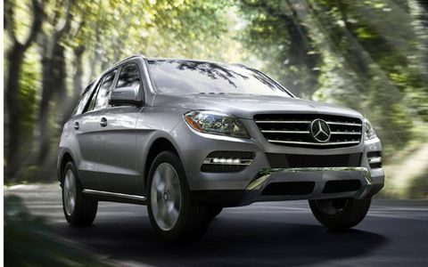 Our base 2013 Mercedes-Benz ML550 4Matic came in at $59,705 with our tester topping off at $80,815.