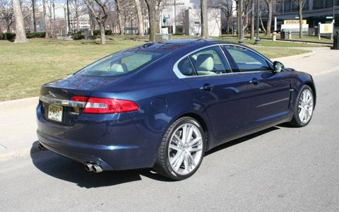 Driver's Log Gallery: 2010 Jaguar XF Supercharged