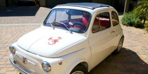 This 1968 Fiat Abarth 595 SS is an enduring, if quirky, icon of Italian performance