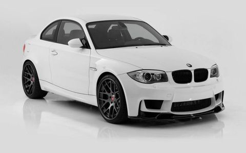 Vorsteiner offers a front lip, rear diffuser, exhaust and wheels for the BMW 1M.