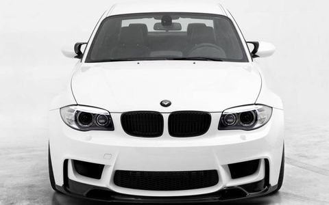 The 1M looks extra mean with the Vorsteiner front lip.